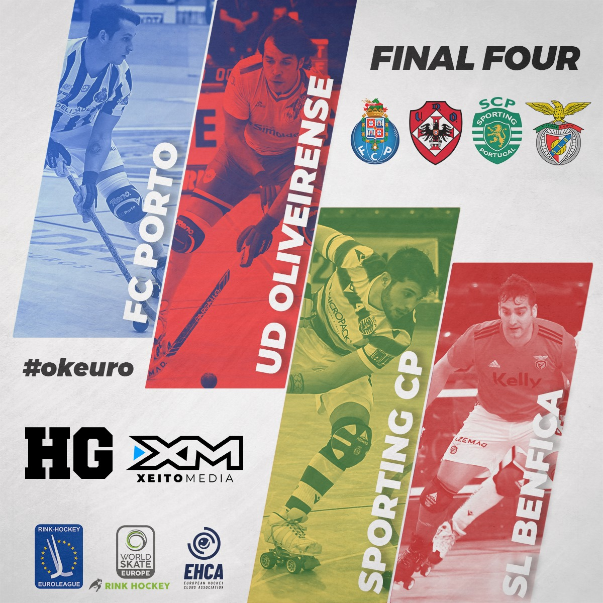 Só portugueses na Final Four da Liga Europeia