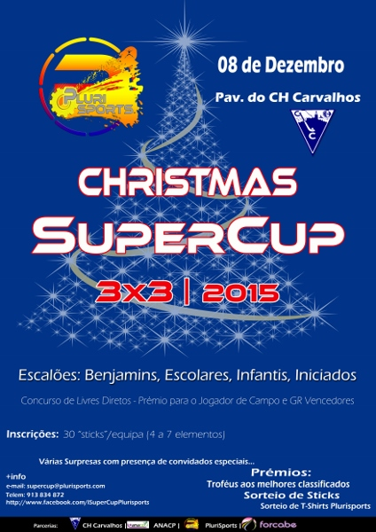 Cartaz Christmas SuperCup 424x600